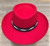 Parati Hats - Red Gambler