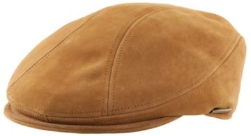 Stetson - Distressed Leather Cap