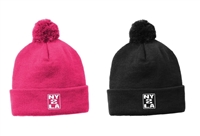 NY2LA POM POM WINTER HAT