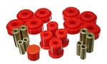 Energy Suspension Red Front Control Arm Bushing Set 2005-2014 Challenger/Charger/300/Magnum
