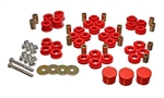 Energy Suspension Red Rear Control Arm Bushing Set 2005-2014 Challenger/Charger/300/Magnum