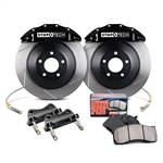 StopTech Touring Front Big Brake Kit w/ Black Calipers 2005-2011 5.7L Challenger/Charger/300/Magnum