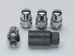 Gorilla Chrome Locking Lug Nut Set 05-12 Charger, Challenger, Magnum, 300