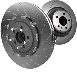 Hellcat OEM Front & Rear Brake Rotor Package (Set of 4)