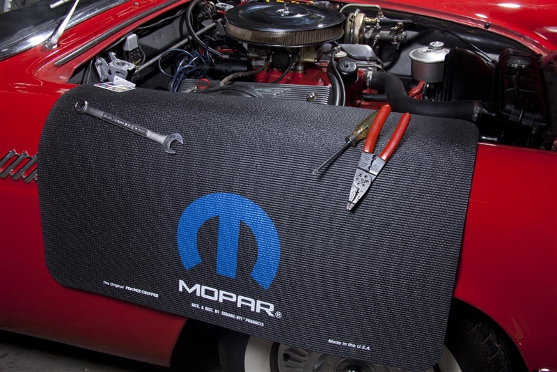 mopar logo foam fender cover
