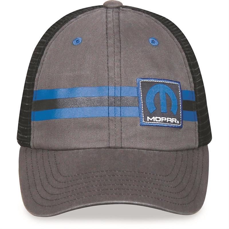 bbdad70aaa8 Mopar Stripe Trucker Hat
