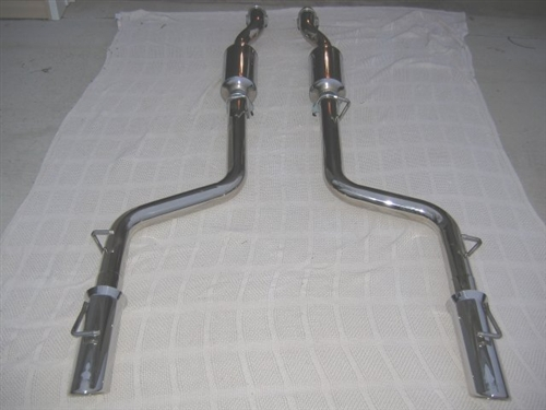 Zoomers Exhaust Catback System 12 14 Charger 300 6 4l