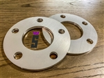 "Speedlogix 1/4"" Billet Wheel Spacers 5x115 (Set of 2)"