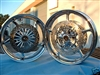 Warrior Chrome Rims / Polished Rotors 06-09