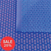 400 Micron Geo-Bubble Blanket-Blue/Blue