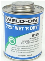 Wet r Dry Fast Cure Cement