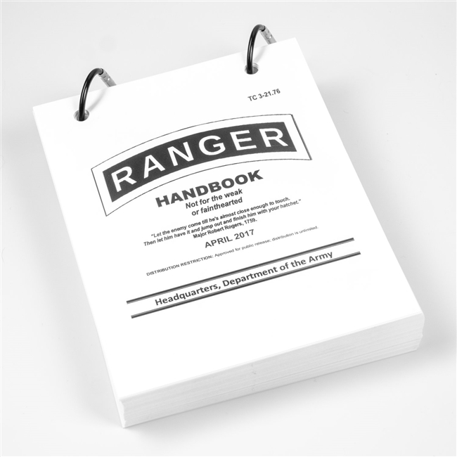 Field Proof Prints Ranger Handbook