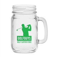 10-1213 Handled Jar 16 oz.
