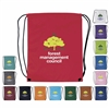 16-039 Nylon Drawstring Backpack