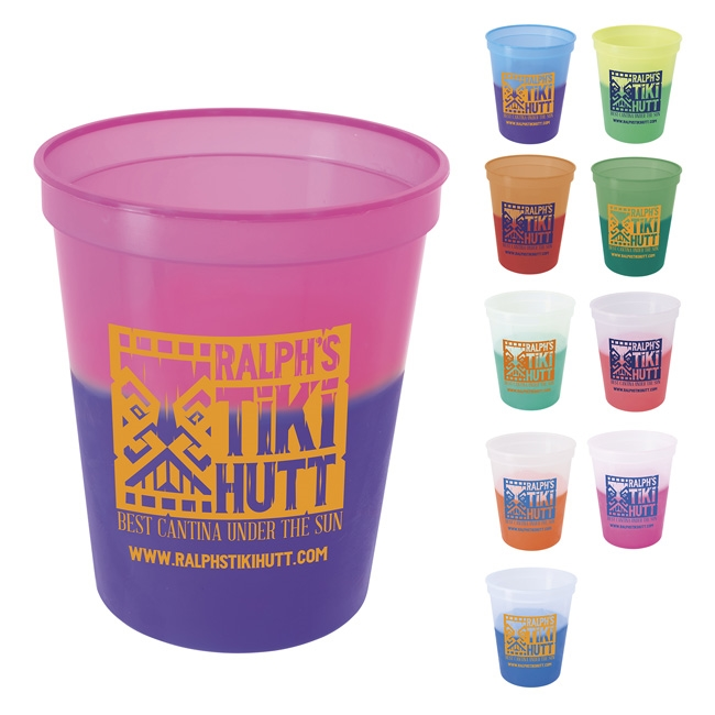 16-076 Color Changing Stadium Cup