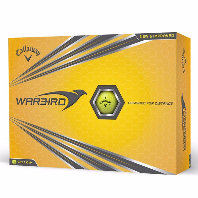 16-0860 Callaway® Warbird® Golf Ball Std Serv