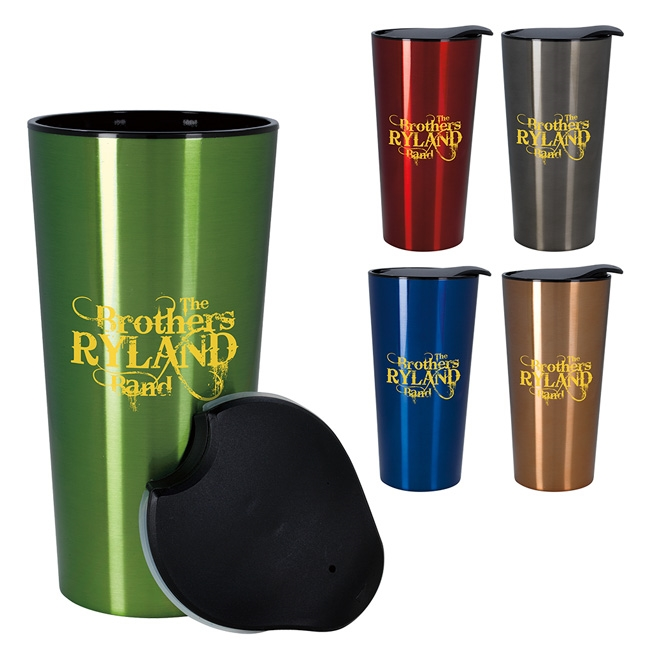 16-102 Fashion Metallic Tumbler 16 oz.