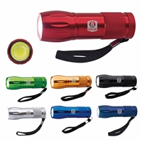 16-207 Mini Aluminum COB Flashlight