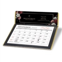17-709 4-Color Digital Desk Calendar