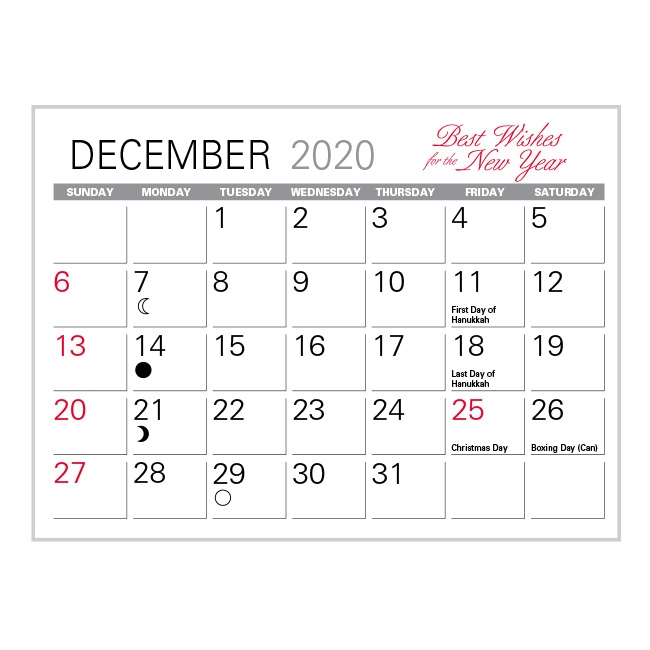 17-MR Memo Desk Calendar Refill