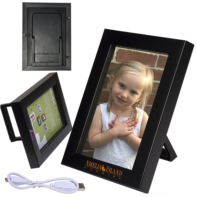 "32-515 4"" x 6"" Wireless Speaker and Picture Frame"
