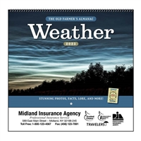 35-802 Old Farmer's Almanac Weather Watchers Wall Calendar