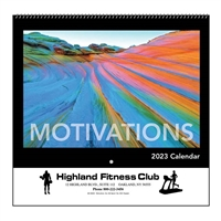 35-835 Motivations Wall Calendar