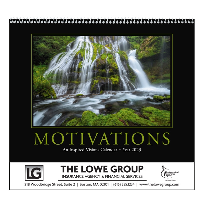 41-00 Motivations Wall Calendar