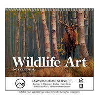 41-31 Wildlife Art Wall Calendar