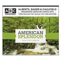 41-38 American Splendor Executive Wall Calendar