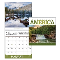 41-39 Beautiful America Executive Wall Calendar