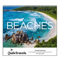 41-730 Beaches Wall Calendar