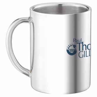 16-891 Double Wall Stainless Steel Mug 9 oz.