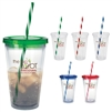 16-917 Translucent Candy Cane Tumbler 18 oz.