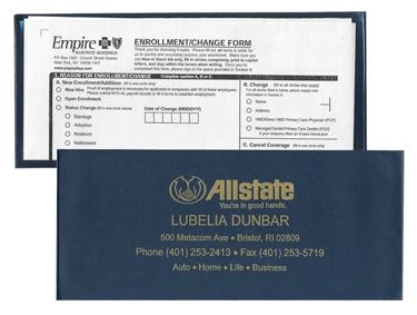50-991 Large Insurance Card Holder