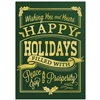 5732 Happy Holidays Vintage