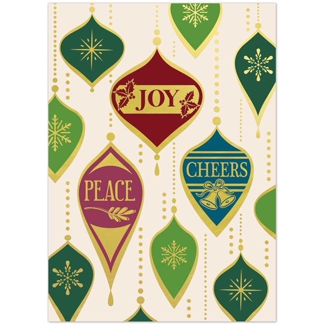5738 Peace and Joy Ornaments