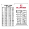 59-154 Tipping Schedule Information/Calendar Card