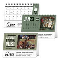 61-29 Saturday Evening Post Desk Calendar