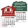61-323 Customizable Stick-Up Calendar