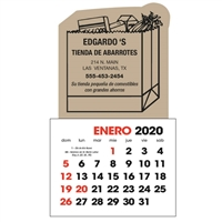 61-327 Spanish Stick-Up Calendar