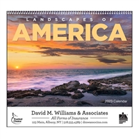 61-801 Landscapes of America Wall Calendar