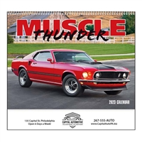 61-805 Muscle Thunder Wall Calendar