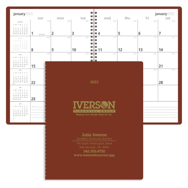 61-8105 Monthly & Weekly Planner