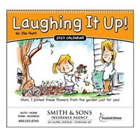 61-813 Laughing It Up Wall Calendar