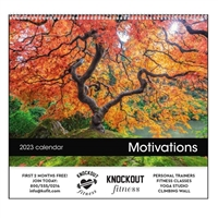 61-828 Motivations Wall Calendar