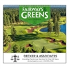 61-829 Fairways and Greens Wall Calendar