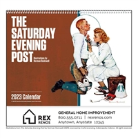 61-839 Saturday Evening Post Wall Calendar