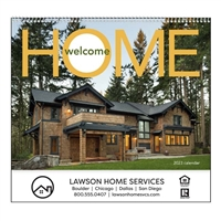 61-849 Welcome Home Wall Calendar
