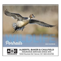 61-863 Wildlife Portraits Wall Calendar
